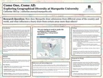 Come One, Come All: Exploring Geographical Diversity at Marquette University