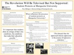 The Revolution Will Be Televised But Not Supported: Student Protest at Marquette University by T.M. Bridges