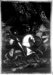 Frontispiece from <em>The Rival Knights; or, the Fortunate Woodlander: A French Romance</em>