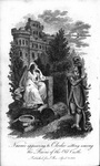 Frontispiece from <em>Tales of Wonder. Containing The Castle of Enchantment or The Mysterious Deception. The Robbers Daughter or The Phantom of the Grotto. The Magic-Legacy & c.</em>