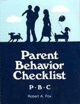 Parent Behavior Checklist
