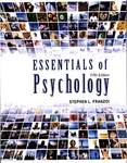 Essentials of Psychology, 5th edition by Stephen L. Franzoi