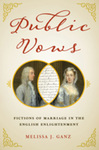 Public Vows: Fictions of Marriage in the English Enlightenment