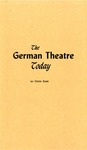The German Theatre Today by Otto Zoff