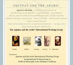 Thomas d'Aquin et ses sources arabes / Aquinas and the Arabs, May 2010