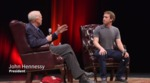 Mark Zuckerberg in conversation with Stanford President John Hennessy by Stanford University