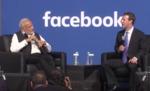 Townhall Q&A with PM Modi and Mark Zuckerberg at Facebook HQ in San Jose, California by Mark Zuckerberg and PM Modi