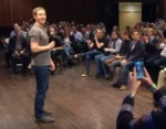 Zuckerberg Q&A in Barcelona