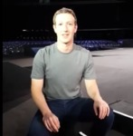 Mark Zuckerberg Behind the Scenes of MWC 2016