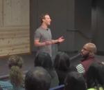 Q&A at Facebook with Mark Zuckerberg by Mark Zuckerberg