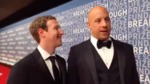 Mark Zuckerberg Live Backstage with Vin Diesel