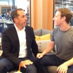 First ever Live Q&A on Facebook (with Jerry Seinfeld) by Mark Zuckerberg