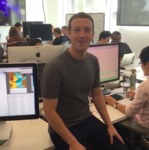 Live from Facebook HQ for the Live video launch by Mark Zuckerberg