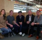 Celebrating Friends Day at Facebook HQ by Mark Zuckerberg