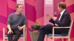 Mark Zuckerberg and Cass Sunstein at Aspen Ideas Festival by Mark Zuckerberg and Cass Sunstein