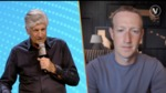 Zuckerberg Facebook video live at VivaTech conference by Mark Zuckerberg and Maurice Levy