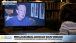 Mark Zuckerberg says Facebook has removed 18 million posts with COVID misinformation, but won't say how many people viewed them by Mark Zuckerberg and Gayle King